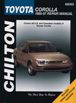 Toyota Corolla (1988-97) Chilton Manual