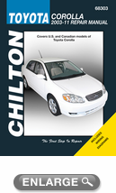 Toyota Corolla Chilton Repair Manual (2003-2011)