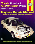 Toyota Corolla, Geo & Chevrolet Prizm Haynes Repair Manual (1993-2002)