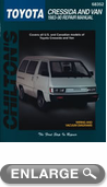 Toyota Cressida/Van (1983-90) Chilton Manual