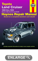 Toyota Land Cruiser Haynes Repair Manual (1980-1996)