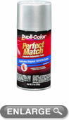 Toyota Metallic Silver Auto Spray Paint - 1C8 (1999-2006)