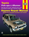 Toyota Pick-ups & 4-Runner Haynes Repair Manual (1979-1995)