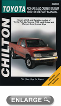 Toyota Pick-Ups/Land Cruiser/4Runner (1989-96) Chilton Manual