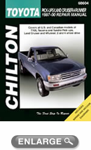 Toyota Pick-Ups/Land Cruiser/4Runner (1997-00) Chilton Manual