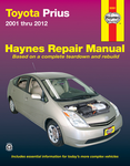 Toyota Prius Haynes Repair Manual (2001-2012)