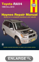 Toyota RAV4 Haynes Repair Manual (1996-2010)