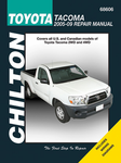 Toyota Tacoma Chilton Repair Manual (2005-2009)