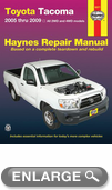 Toyota Tacoma Haynes Repair Manual (2005 - 2009)