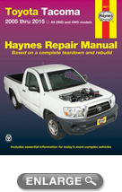 Toyota Tacoma Haynes Repair Manual (2005-2015)