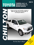 Toyota Tundra & Sequoia Chilton Repair Manual (2007-2012)