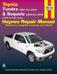 Toyota Tundra & Sequoia Haynes Repair Manual (2007-2012)