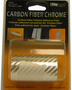 "TrimBrite 3"" x 6' Carbon Fiber Chrome Adhesive Film"
