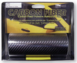 "TrimBrite 6"" x 6' Black Carbon Fiber Adhesive Film"
