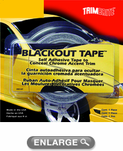 "Trimbrite Blackout Tape 1 3/8"" x 20'"
