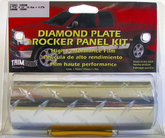 "Trimbrite Diamond Plate Rocker Panel Kit (5-7/8"" x 14ft)"