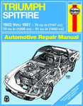 Triumph Spitfire Haynes Repair Manual (1962-1981)