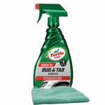 Turtle Wax Bug & Tar Remover (16 oz.) & Microfiber Cloth Kit