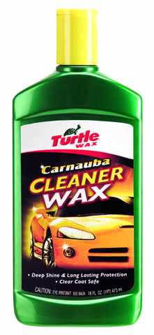Turtle Wax Carnauba Liquid Wax 16 oz.