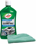 Turtle Wax Carnauba Cleaner Wax (16 oz.) & Microfiber Cloth Kit