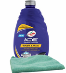 Turtle Wax ICE Premium Care Car Wash (48 oz) & Microfiber Cloth Kit