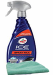 Turtle Wax ICE® Synthetic Spray Wax (20 oz.) & Microfiber Cloth Kit