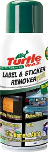 Turtle Wax label & Sticker Remover 10 oz