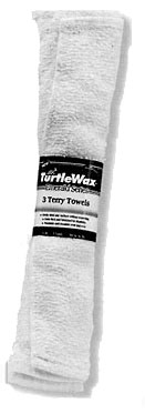 Turtle Wax Soft Terry Towel 3PK