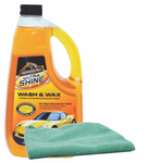 Ultra Shine Wash & Wax, Microfiber Cloth Kit