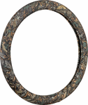 Wild Wood Camouflage Green Leaf Steering Wheel Cover