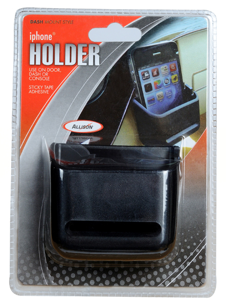 Vehicle Dash Door or Console iPhone Holder