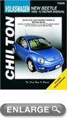Volkswagen New Beetle Chilton Manual (1998-2010)