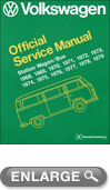 Volkswagen Station Wagon/Bus-Type 2 Models Service Manual (1968-1979)