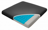 Relax Fusion Memory Foam & Cooling Gel Seat Cushion