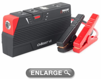 Wagan 300 Amp IonBoost V8 Plus Portable Jump Starter & USB Charger