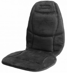 Heated Soft Velour Seat Cushion By Wagan