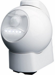 White Motion Activated LED Outdoor Light