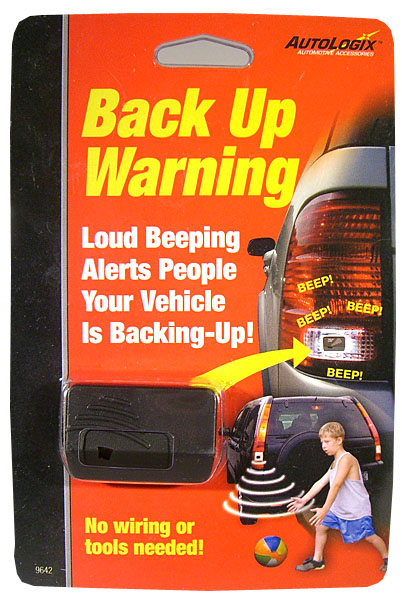 Wireless Back-Up Warning Alarm