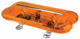 WOLO AURORA™ Amber Halogen Mini Light Bar