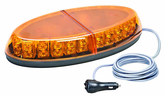 Wolo Beyond 44 LED Amber Mini Warning Light Bar