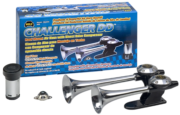 Wolo Challenger DD Roof Mount  Air Horn