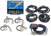 Wolo Lightning™ 80 Watt Power Supply 4 Bulb Strobe Kit