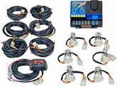 Wolo Lightning Plus™ 120-Watt Power Supply 6 Bulb Strobe Kit