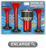Wolo Wobbler Triple Wild Turkey Air Horn