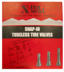 XtraSeal Tubeless Tire Valves (Box of 50)