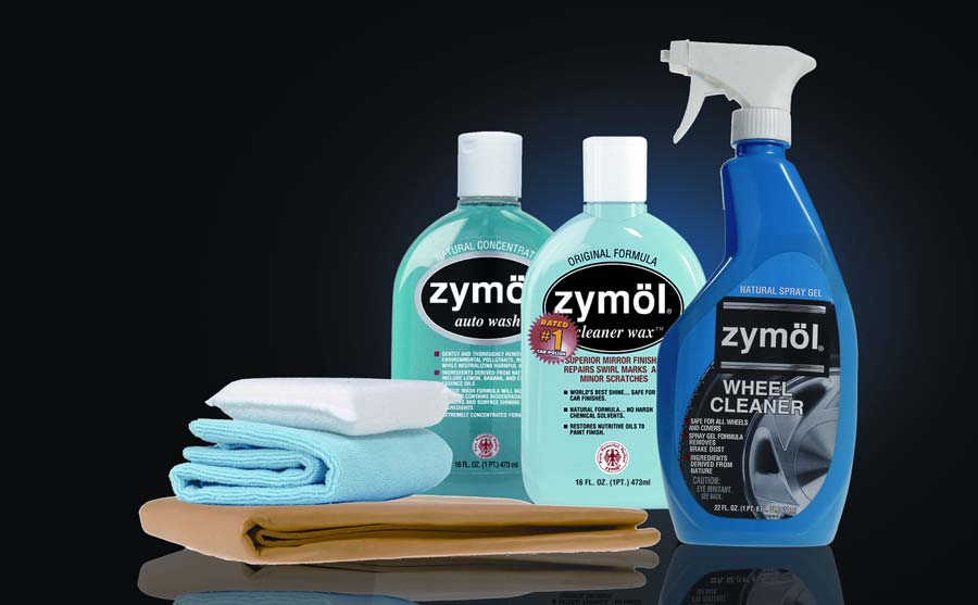 Zymol Car Care Assortment w/Wheel Cleaner Cleaner Wax & Applicators