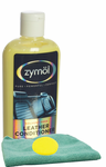 Zymol Leather Conditioner (8 oz.), Microfiber Cloth & Foam Pad Kit