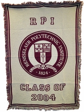 2004 Class Year Throw Blanket