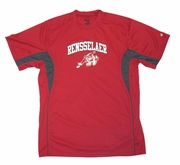 Badger Youth Tee with Rensselaer and Puckman