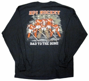 BMOC Hockey Long Sleeve Shirt - Bad to the Bone